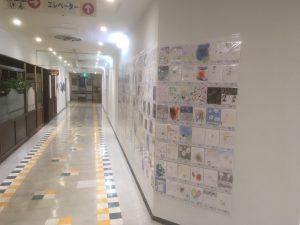 ザ・スクエア 聖蹟桜ヶ丘駅前ショッピングセンター地階 作品展示風景-1